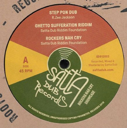 R. Zee Jackson - Step Pon Dub / Ghetto Sufferation Riddim (Satta Dub) 12""